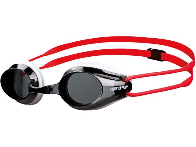 arena Tracks Goggle Juniors smoke-white-red